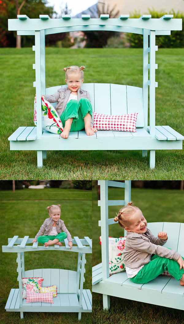 Table Jardin Pvc 25 Playful Diy Backyard Projects To Surprise Your Kids