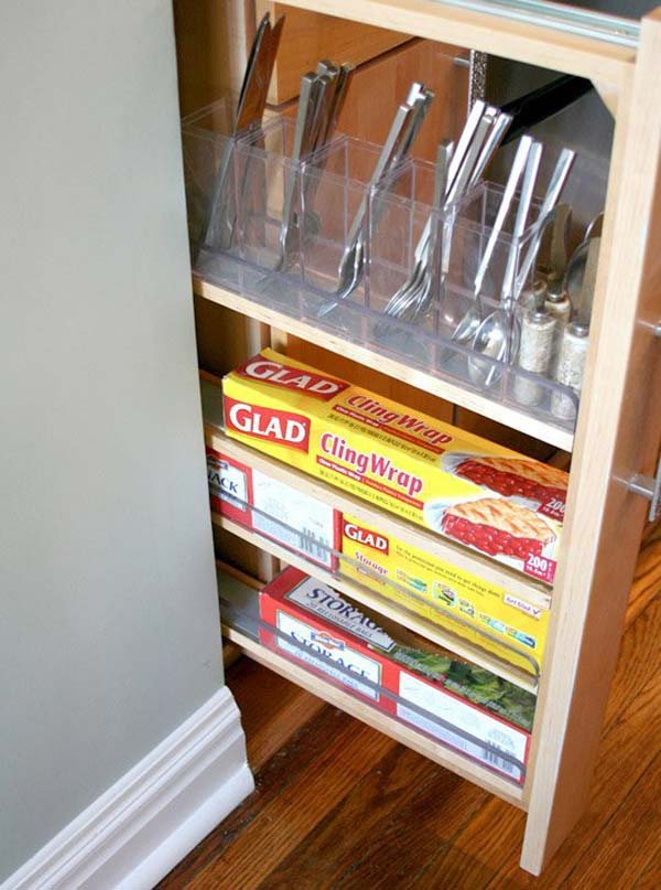 Ikea Pull Out Drawers Top 27 Clever And Cute Diy Cutlery Storage Solutions