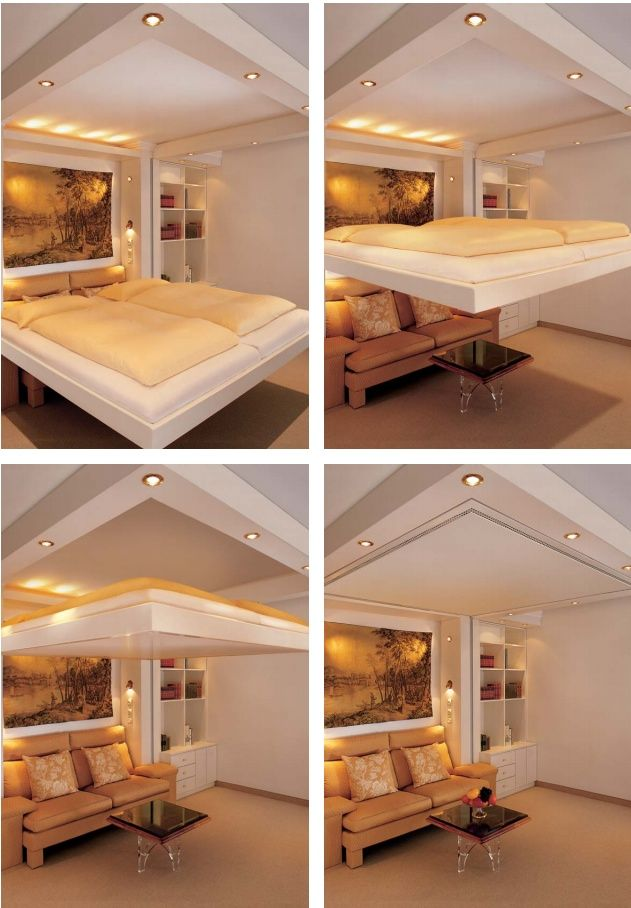 Platzsparendes Bett 30+ Borderline Genius Inventions That Will Actually Make