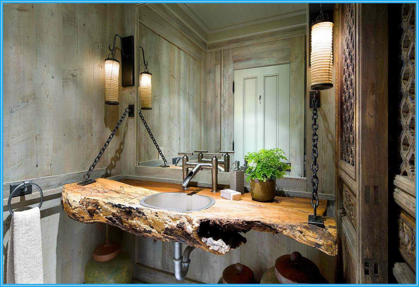 35 Exceptional Rustic Bathroom Designs Filled With Coziness And Warmth Architecture Design