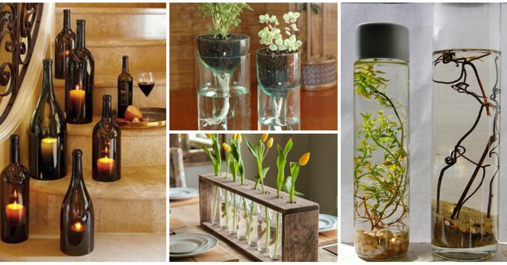 Drinking Wine In 18 Diy Projects For Old Glass Bottles