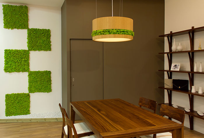 Modern Wall Clock Moss Walls: The Interior Design Trend That Turns Your Home