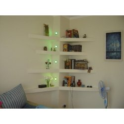 Small Crop Of Bedroom Corner Wall Shelves