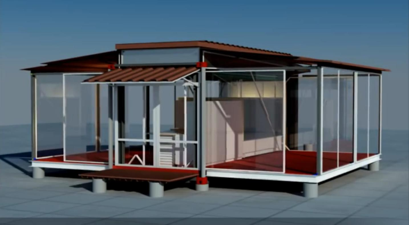 Container House Shipping Container House That Is Expandable And