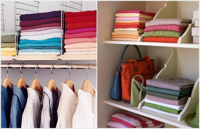 Shelf Dividers Ikea 15 Top Bedroom Closet Organization Hacks And Ideas