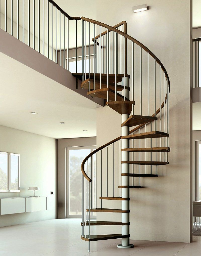 Model Tangga Besi Rumah Minimalis 40 Breathtaking Spiral Staircases To Dream About Having In