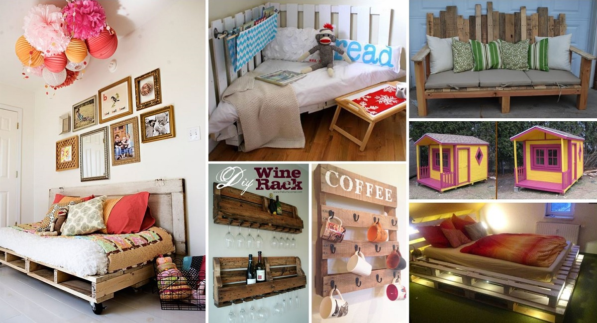 Revistas De Decoracion El Mueble 40+ Creative Pallet Furniture Diy Ideas And Projects