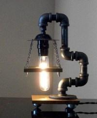 20 Interesting Industrial Pipe Lamp Design Ideas  EYE-Q
