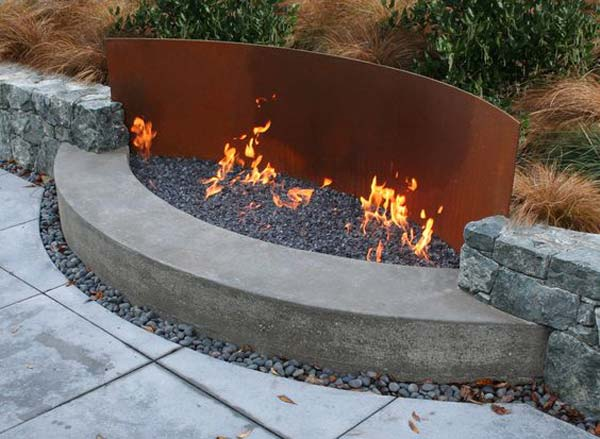Outdoor Feuerstelle 20 Amazing Diy Ideas For Outdoor Rusted Metal Projects