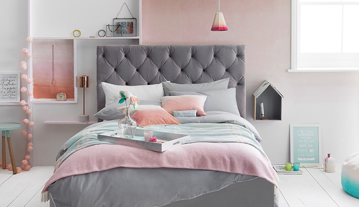 Pale Pink Wallpaper For Girl Nursery 40 Bedroom Paint Ideas To Refresh Your Space For Spring