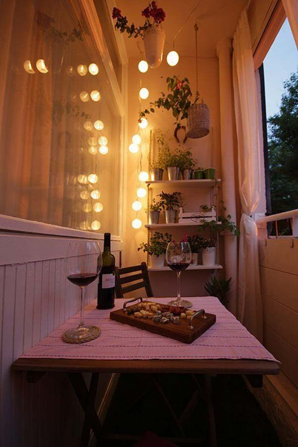 Restaurant Design 25 Small Furniture Ideas To Pursue For Your Small Balcony