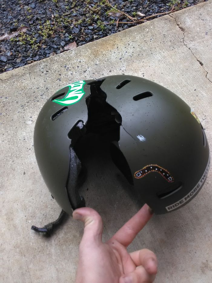 Car Crash 25+ Reasons Why You Should Always Wear A Helmet