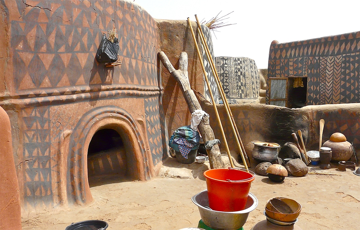 Burkina Home Decor Photographers Gain Entry Into Traditional African Village