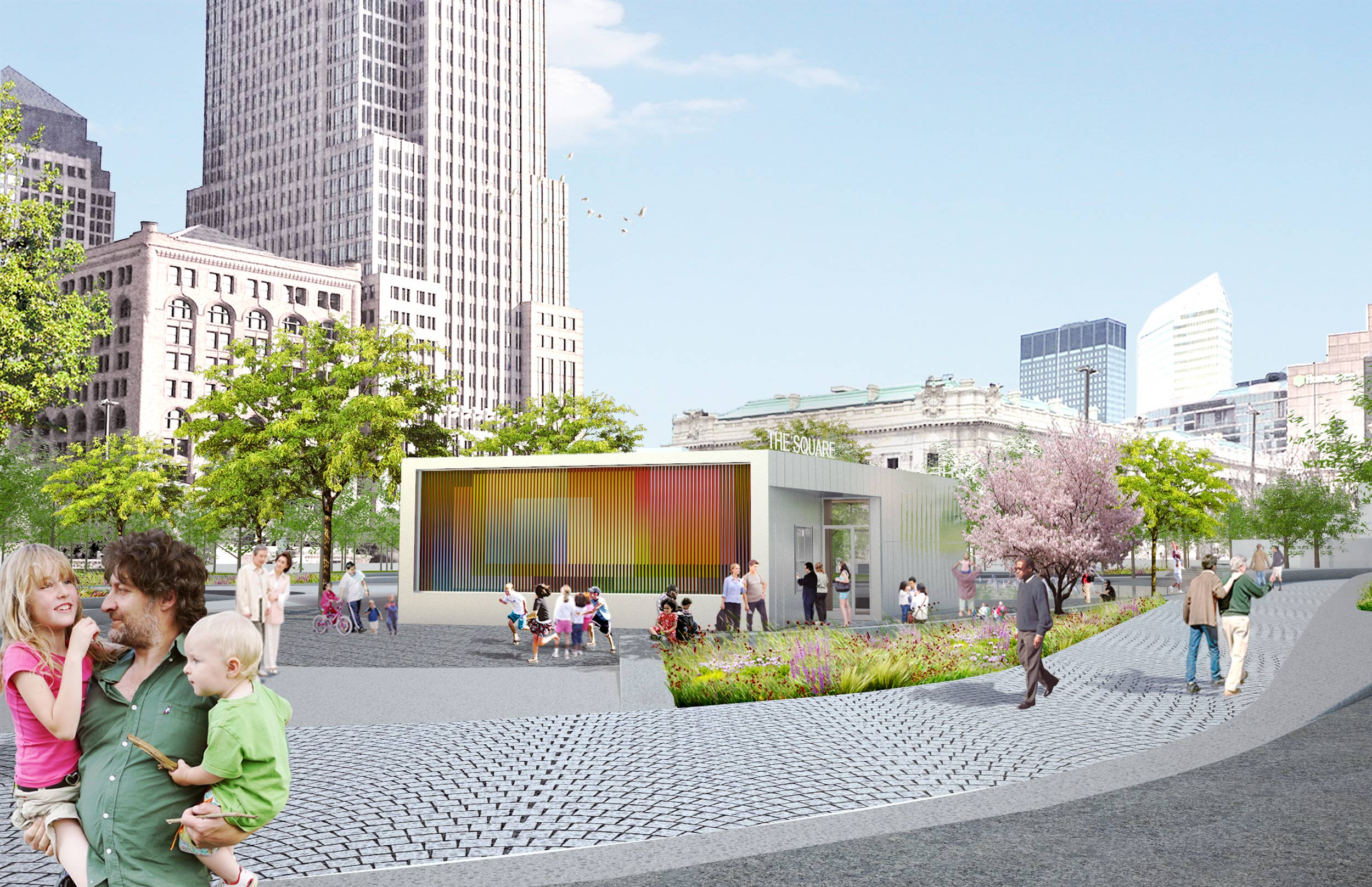 Narchitects Reveals Cafe Pavilion For Cleveland39s Revamped