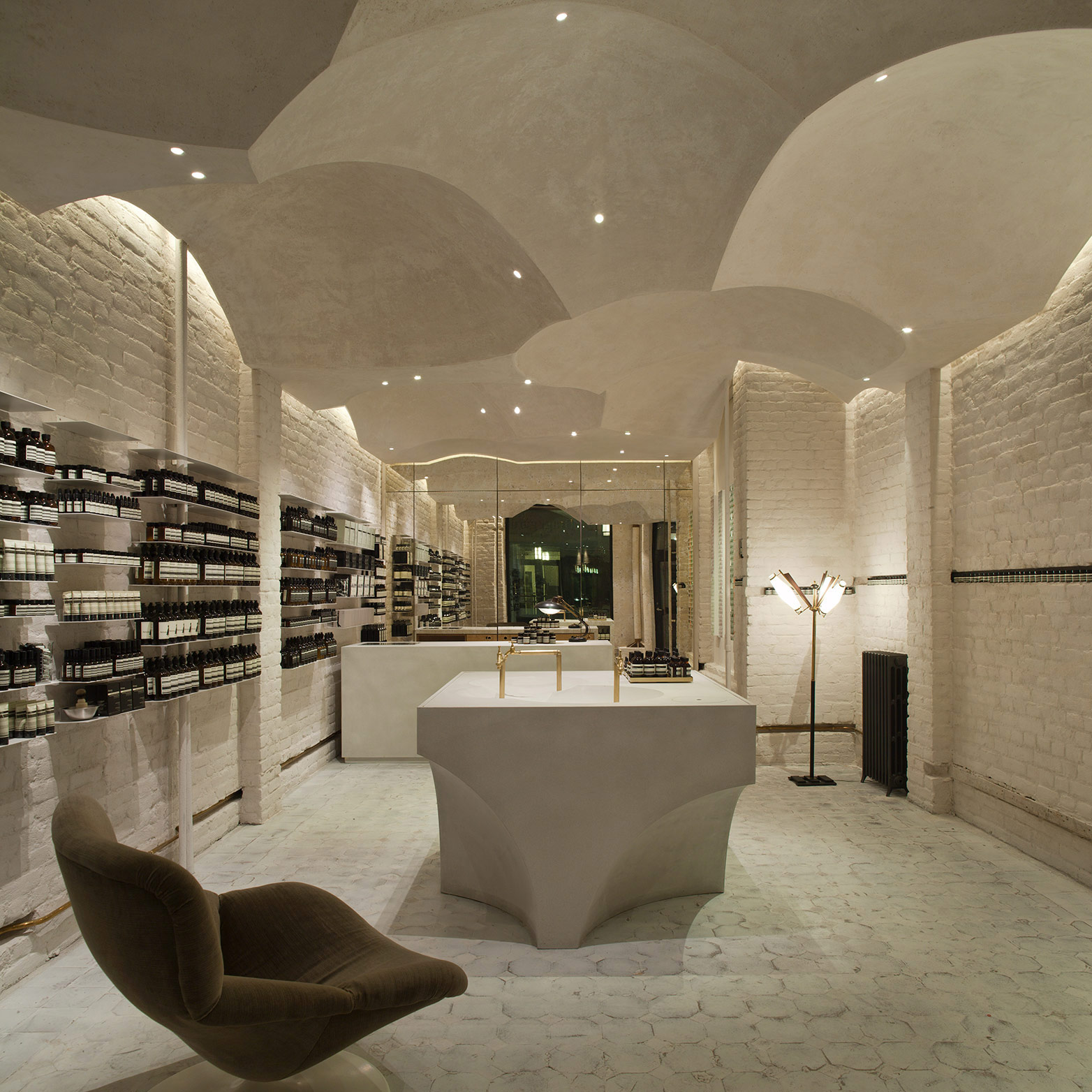 Ceiling Design Retail Aesop Creative Director Marsha Meredith On Design Craft