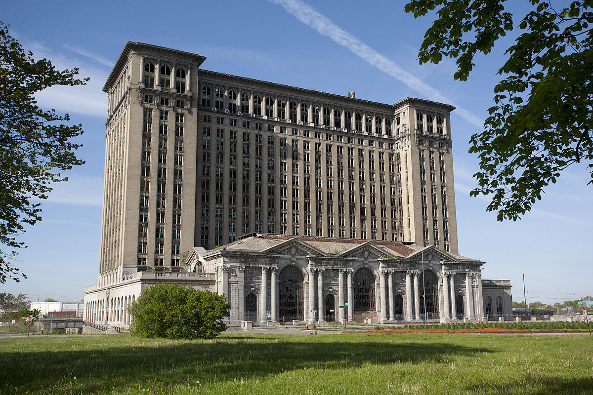 Life Returns To Michigan Central Station For First Time In