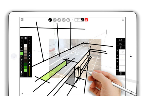Digital drawing app makes perspective drawing easy - Archpaper