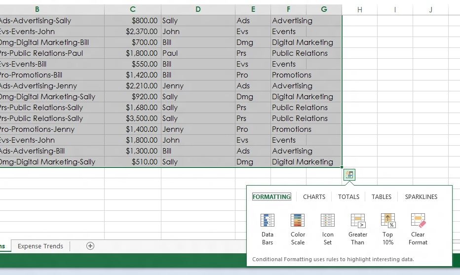 First look Excel 2013 Ars Technica