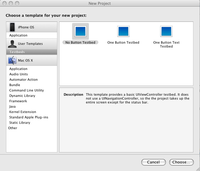 Cocoa dev Design your own Xcode project templates Ars Technica - Project Design Template