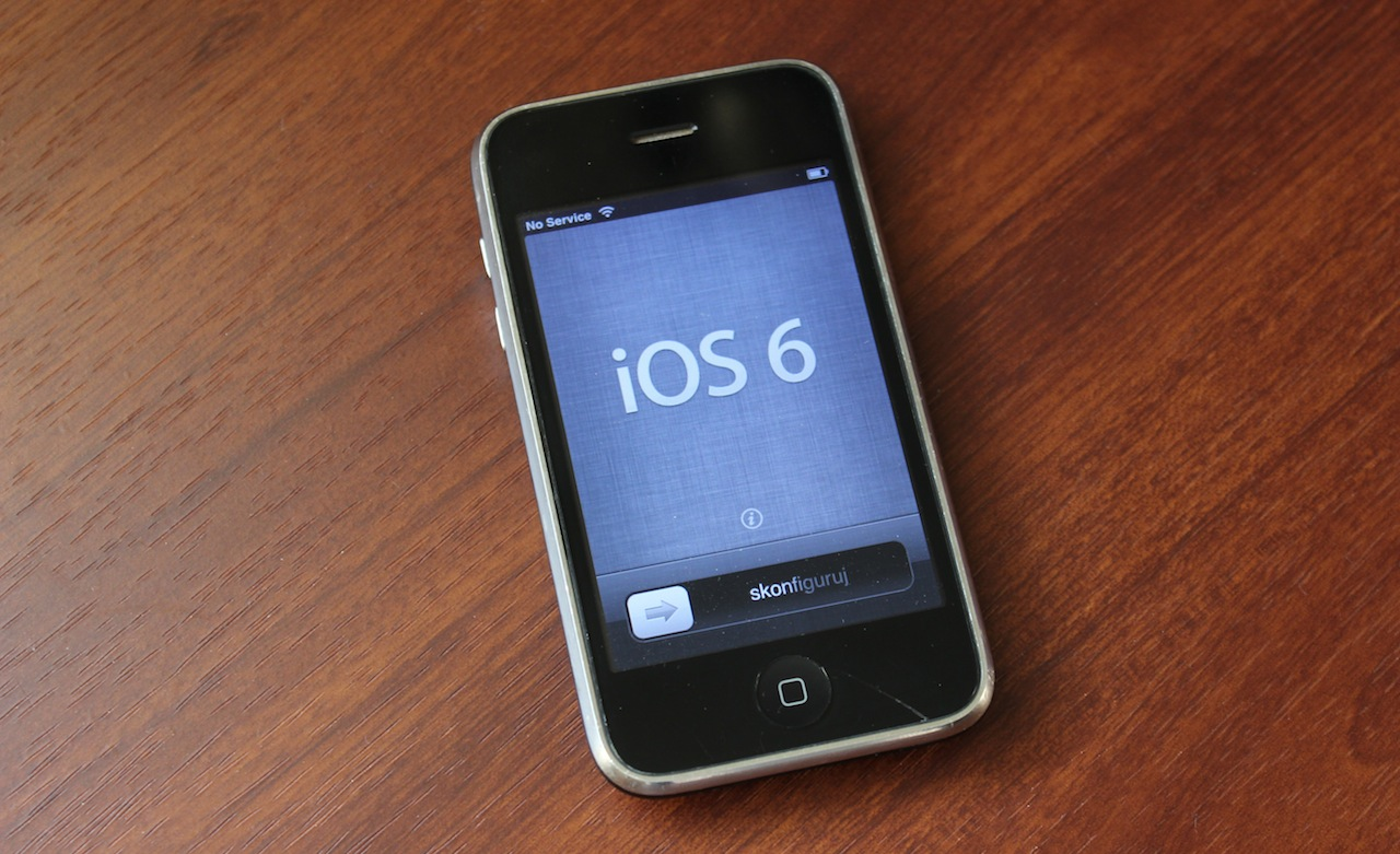 Iphone 3gs Tempting Fate Installing Ios 6 On The Iphone 3gs Ars Technica