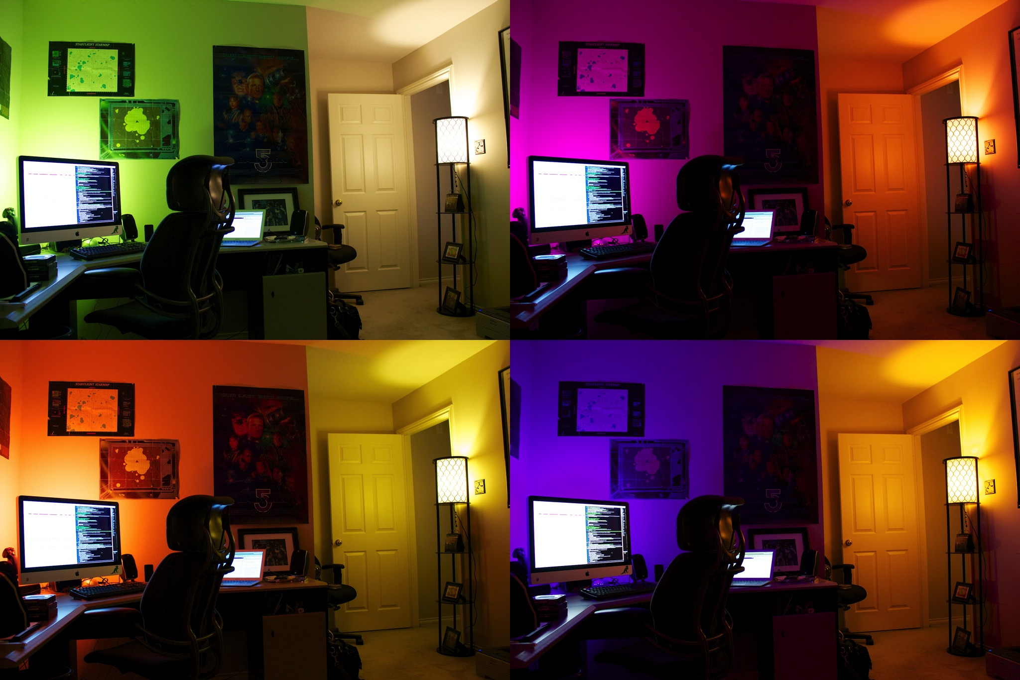Philips Hue Examples In Living Color Ars Reviews The Hacker Approved Philips