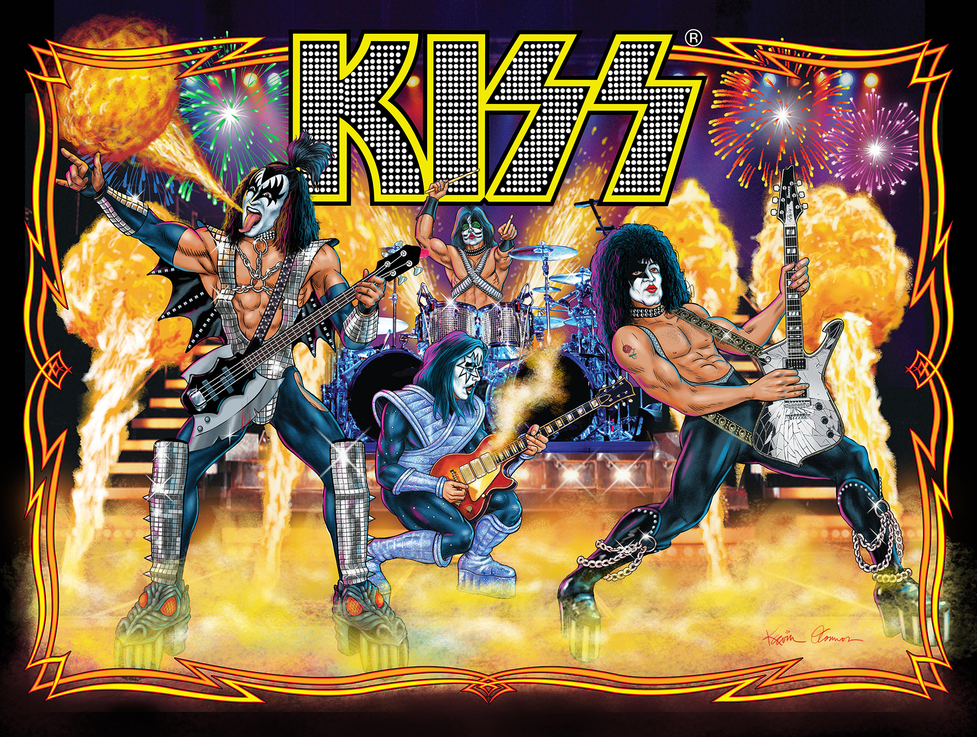 Specialized Wallpaper Hd Play Pinball Like It S 1978 With The New Kiss Game Ars