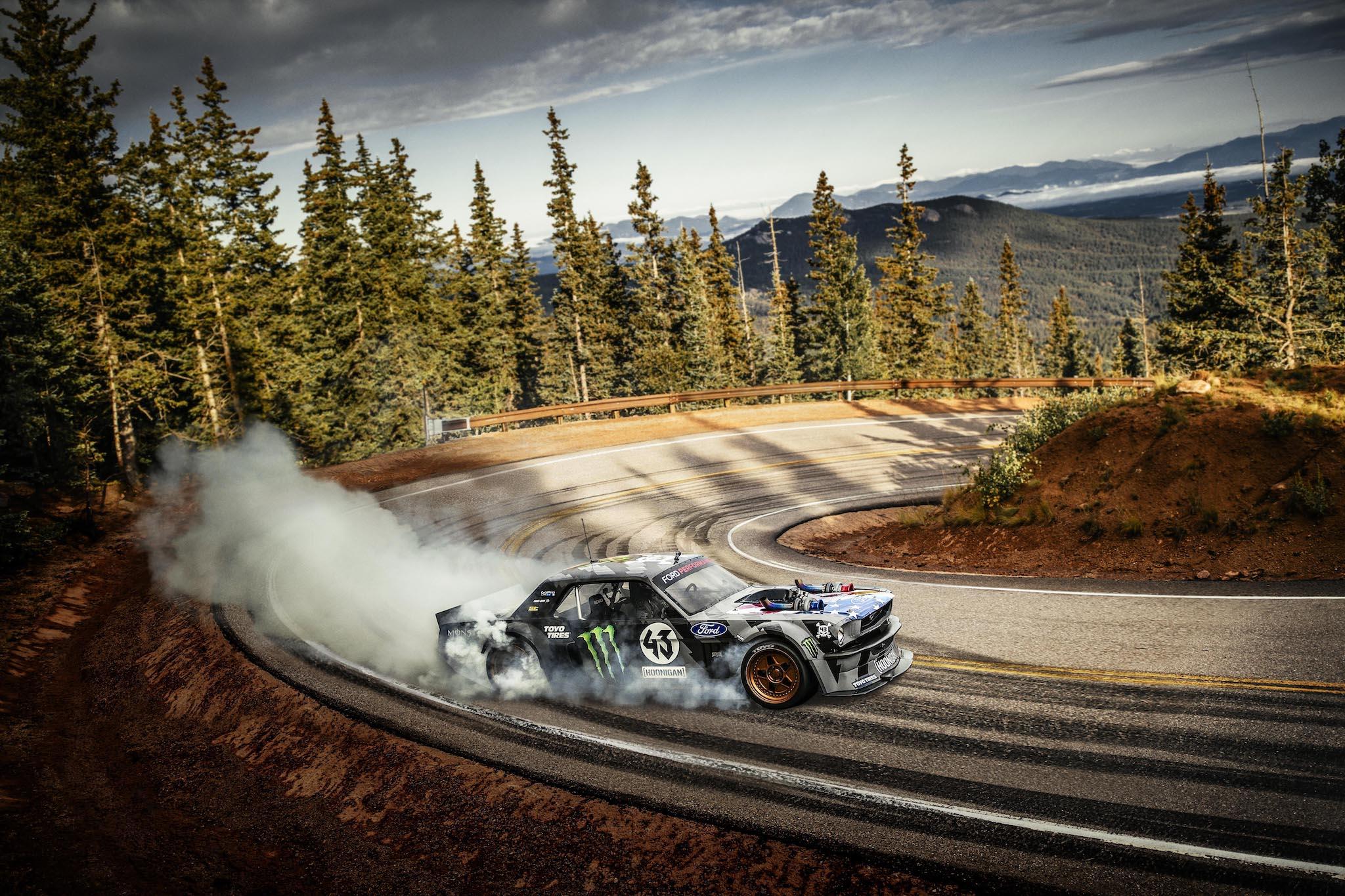 Gymkhana 7 Car Wallpaper Ken Block S Latest Insane Drifting Video Takes Place On
