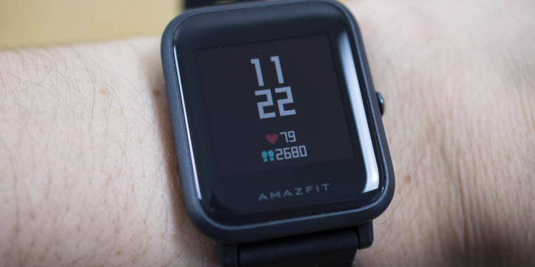 Amazfit Bip review One peculiar week with a $99 smartwatch Ars