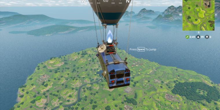 Pubg Parachute Wallpaper Fortnite Battle Royale Will Have The Same Gameplay On