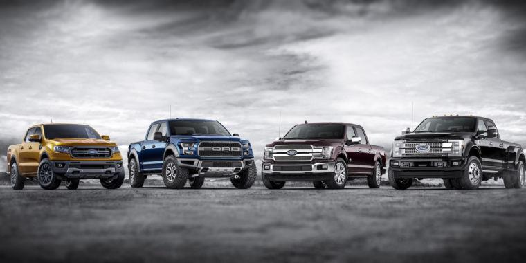 ford car lineup 2020