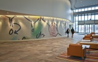 Vertex Headquarters Lobby Art Mural | ARTAIC