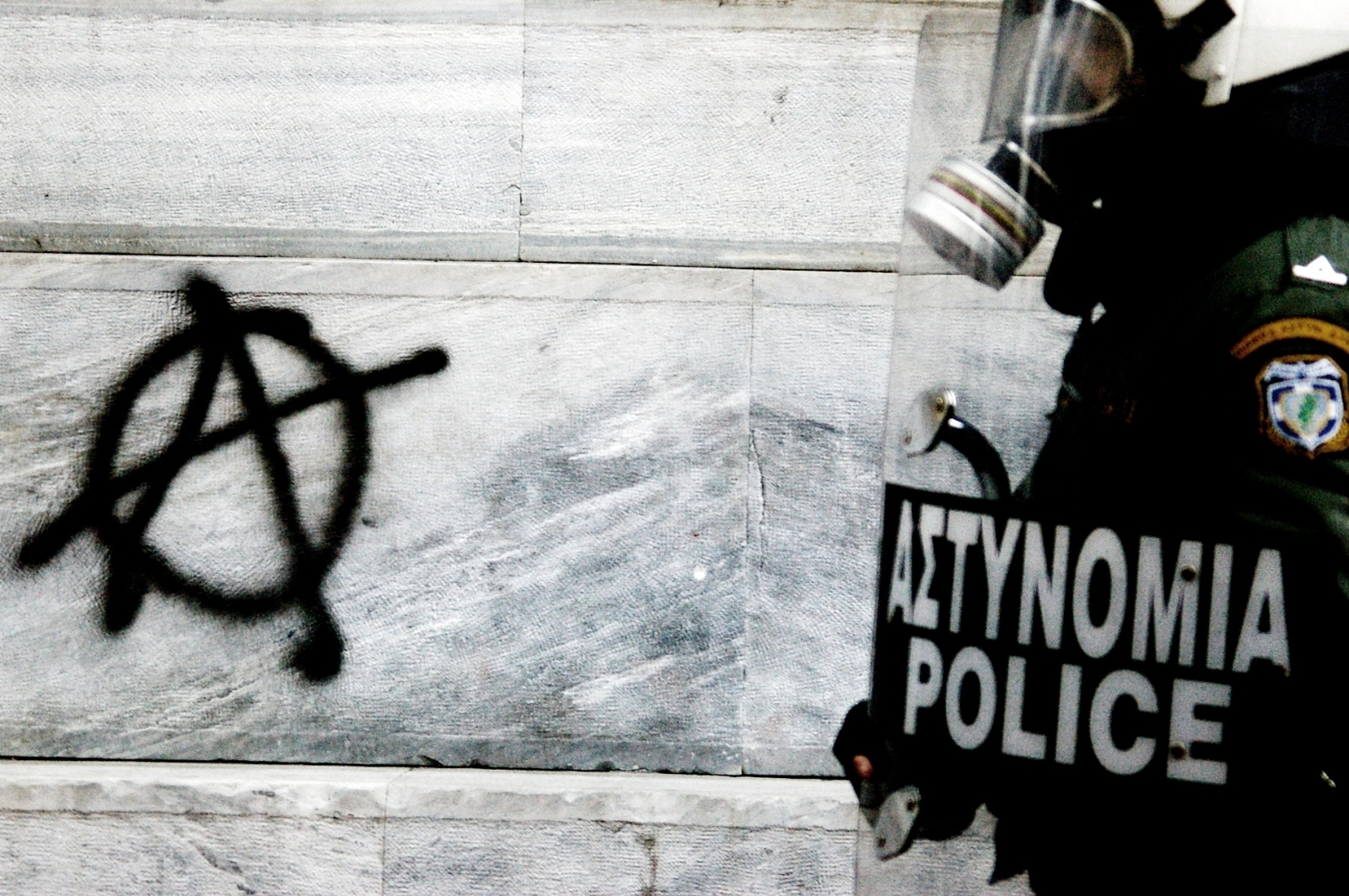 Patterns For Girls Wallpaper High Defintion Riot Police Paint Spray Anarchy Logos 1600x1063 Wallpaper