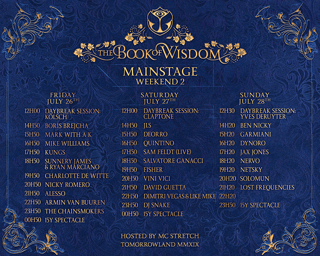 Stage Black Friday In July 2019 Ad Deals And Sales Line Up Festival Tomorrowland