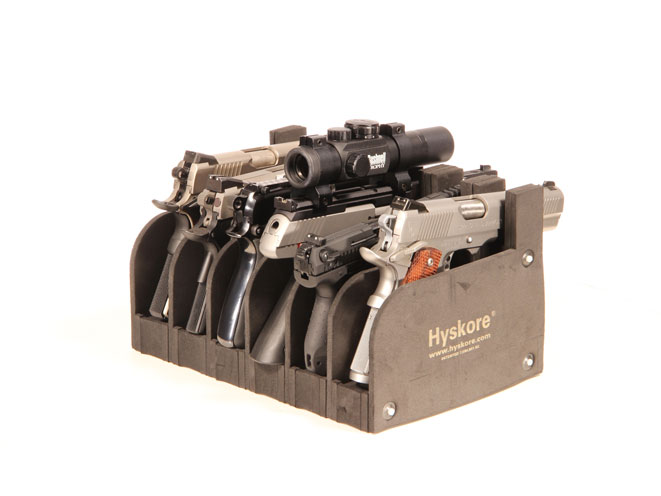 Hyskore39s Six Gun Modular Pistol Rack