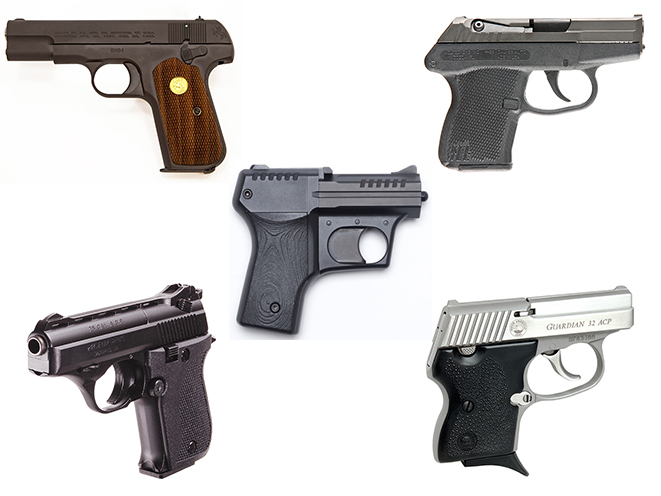 5 Mighty Mouse Guns Chambered in 25 and 32 ACP
