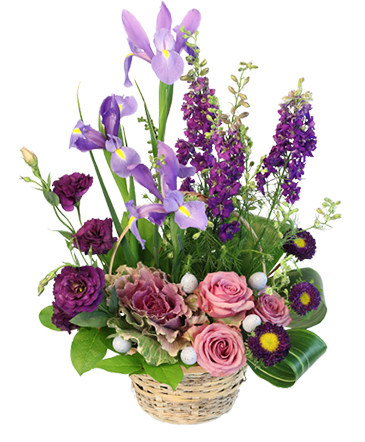 Spring\u0027s Treasure Basket Arrangement in Lindsborg, KS - DESIGNS