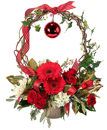 Rudolph\u0027s Nose Holiday Flowers in Coalgate, OK - THE FLOWER GARDEN