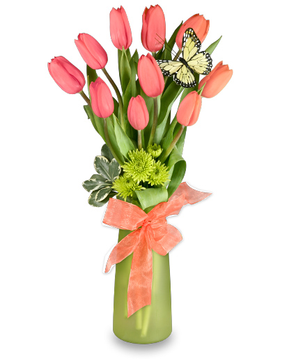 Tulips Flower Arrangement Thoughtful Tulips Arrangement | Spring Flowers | Flower