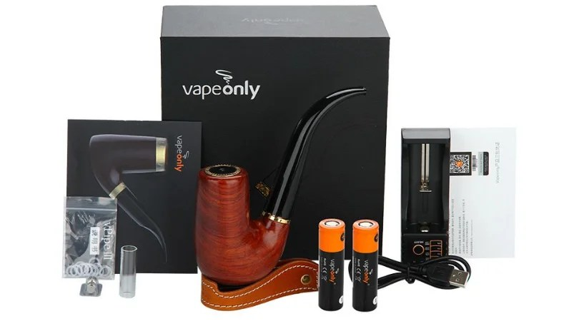Elite Mini Vape Kit Zen Pipe 18650 2200mah Vapeonly Elite Smoke Br