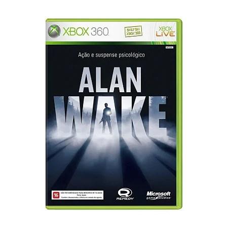 Alan Wake - Xbox 360 - ShopB - 9 anos!