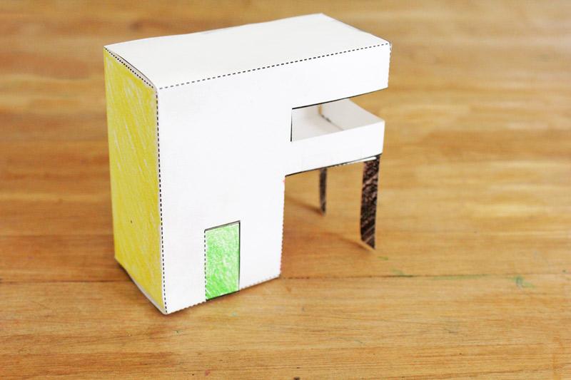 Design for Kids Paper Houses - Babble Dabble Do