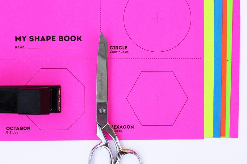 Math Book Art My Shape Book (Shape Activities for Kids)