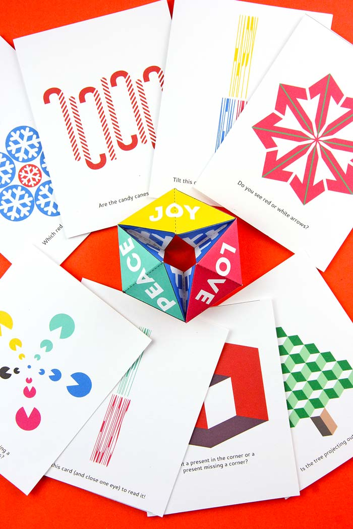 Printable Holiday Card Pack - Babble Dabble Do