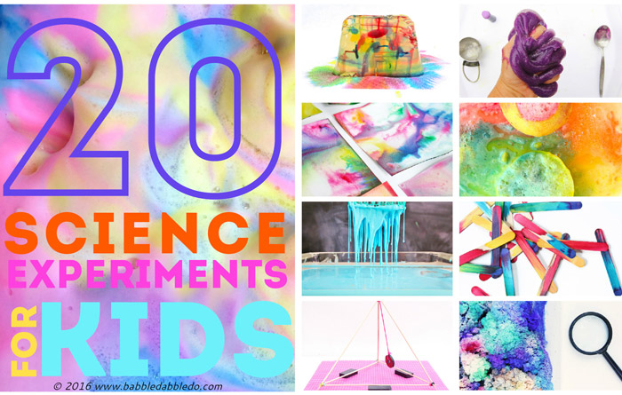 20 Offbeat Science Experiments Your Kids Will Love!