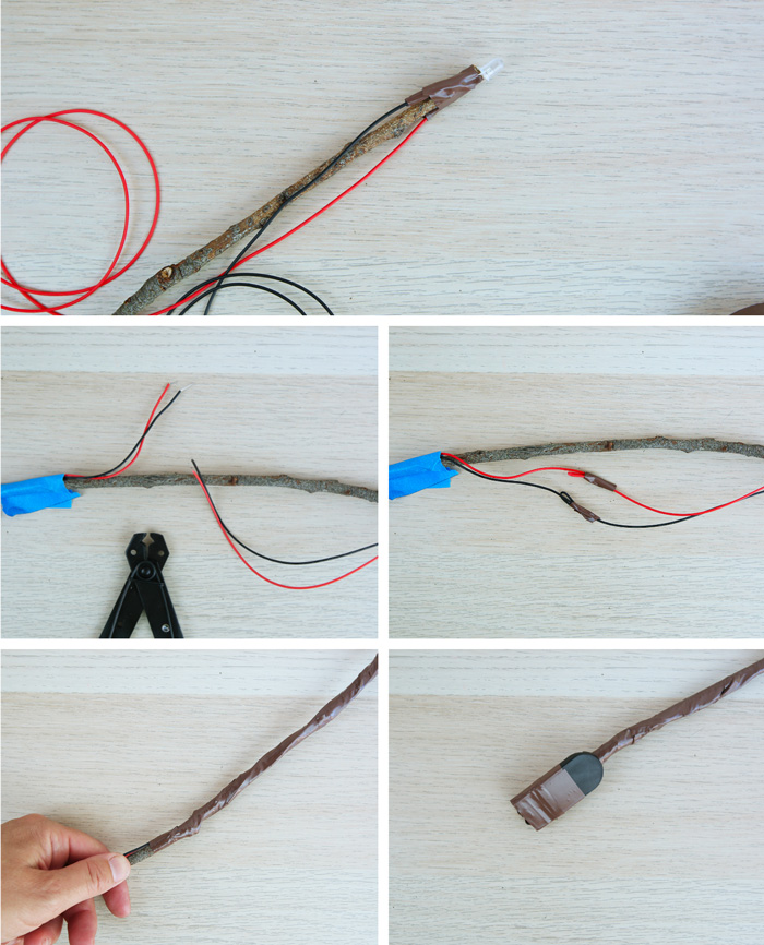 Simple Electronics How to Make a Magic Wand - Babble Dabble Do