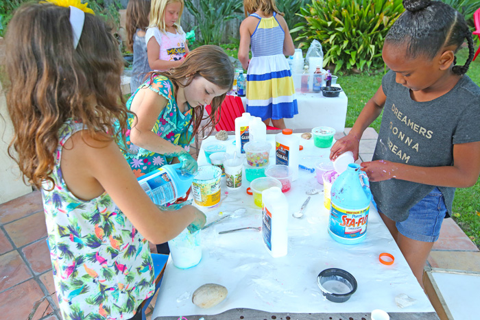 How to Host an Epic Slime Party - Babble Dabble Do