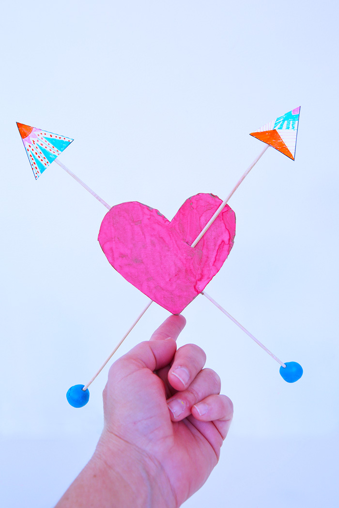 How to Make a Balance Toy Balance Hearts STEAM Activity - Babble