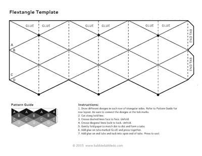 How to Make Amazing Flextangles - Babble Dabble Do