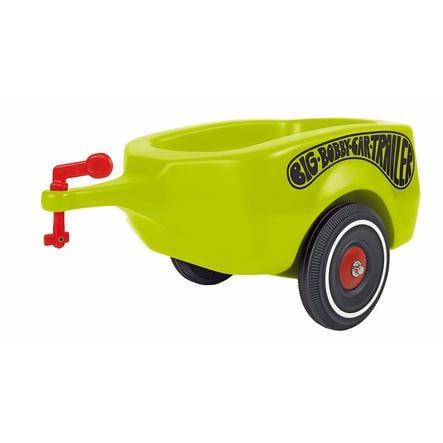 BIG Bobby Auto přívěs, zelený Trailer klasic pinkorbluecz