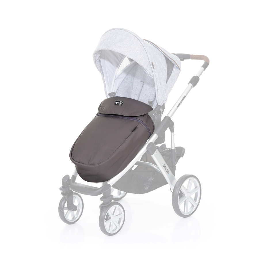 Tweeling Kinderwagen Abc Zoom Abc Design Voetenzak Cloud